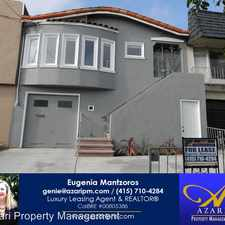 Rental info for 246 Lobos Street in the Outer Mission area