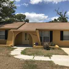 Rental info for 11236 Gifford Drive in the 34608 area