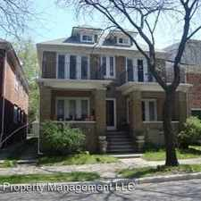 Rental info for 848 Beaconsfield - 1N in the Detroit area