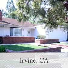 Rental info for Pet Friendly 3+2 House In Irvine. Will Consider! in the Shady Canyon area