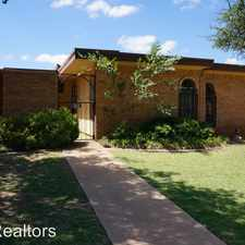 Rental info for 5035 27th in the Lubbock area