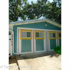 Rental info for 1806 W. 30th in the Austin area