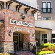 Rental info for Walton Ashwood in the Sandy Springs area