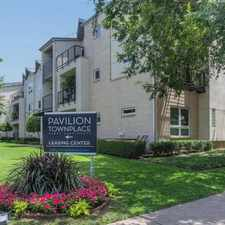 Rental info for Pavilion Townplace in the Dallas area