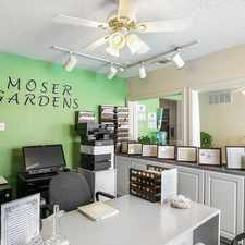 Rental info for Moser Gardens in the Oak Lawn area