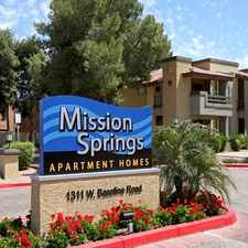 Rental info for Mission Springs