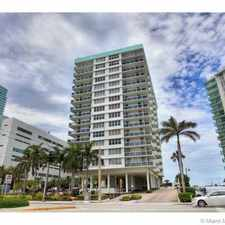 Rental info for 3725 South Ocean Drive #1012 in the Hallandale Beach area
