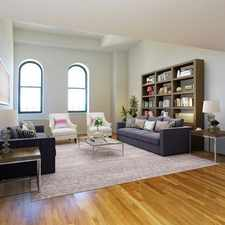 Rental info for 666 Greenwich Street