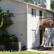Rental info for 739 B Manitou Boulevard