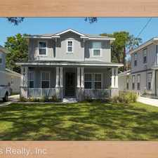 Rental info for 1612 Moreno Street in the 32501 area