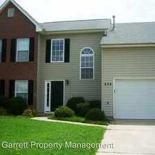 Rental info for 274 Cabell Drive