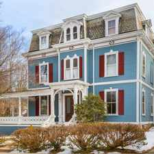 Rental info for Majestic Italianate Mansard in a historic area of Newton Corner is one of a kind! List Price: $1,650,000