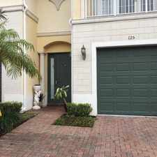 Rental info for 125 Bella Vita Drive in the Royal Palm Beach area