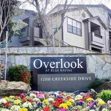 Rental info for Overlook at Blue Ravine