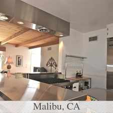 Rental info for This Gated Mid-century Beach Home Is Perched Ab...