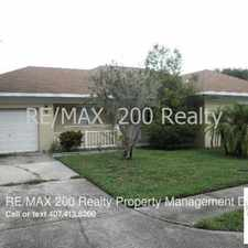Rental info for 8743 Wichita Place in the Boggy Creek area