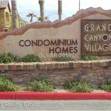 Rental info for 8250 Grand Canyon Drive #2147