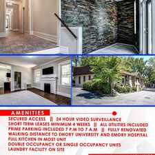 Rental info for Right across Emory university! Student Welcome! Fully Renovated in the Atlanta area
