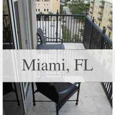 Rental info for One Of A Kind PentHouse Unit. in the Coral Gables area