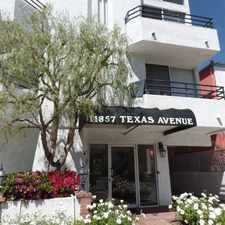 Rental info for 11857 Texas Ave., #104 in the Los Angeles area