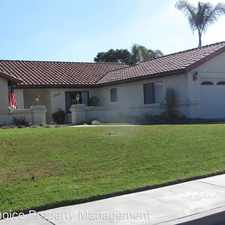 Rental info for 1043 Burlington Dr. in the Orcutt area