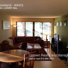 Rental info for 52 Groveland in the Lowry Hill area