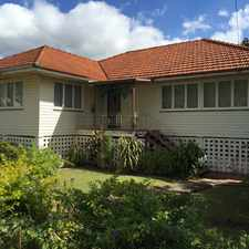 Rental info for PET FRIENDLY HOME in the Yeerongpilly area