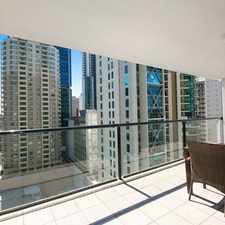 Rental info for FURNISHED ONE BEDROOM IN RIVER CITY!! in the Brisbane City area