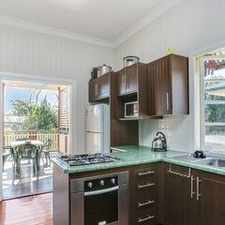 Rental info for STYLISHLY RENOVATED IN POPULAR WOOLOOWIN in the Brisbane area