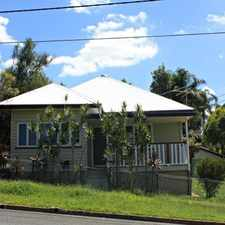 Rental info for BEAUTIFULLY RENOVATED in the Brisbane area