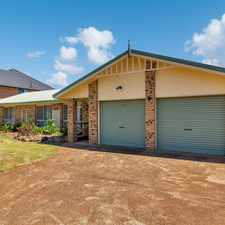 Rental info for MASSIVE FAMILY HOME WITHIN THE CENTENARY HEIGHTS CATCHMENT ZONE in the Toowoomba area