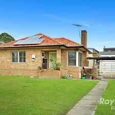 Rental info for LARGE 4 BEDROOM HOME in the Westmead area