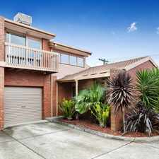 Rental info for PRIVATE, SPACIOUS AND BEAUTIFUL - ENTRY THROUGH REID STREET in the Bentleigh East area