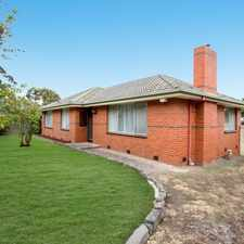 Rental info for A Perfect Parkside Gem in the Melbourne area