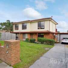 Rental info for Two kitchens, great for dual living in the Narre Warren South area
