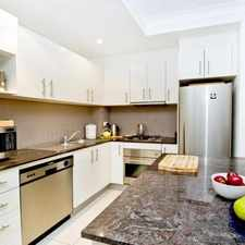 Rental info for DEPOSIT TAKEN - CONTEMPORARY APARTMENT WITH GARDEN COURTYARD in the Sydney area