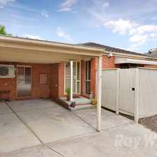Rental info for A spacious & separately titled 2 bedroom villa unit in the Boronia area