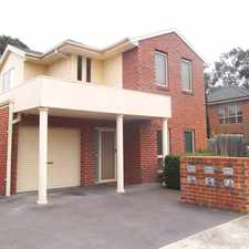 Rental info for Terrific Townhouse A Hop Away From La Trobe University