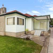 Rental info for LARGE 3 BEDROOM HOUSE in the Sydney area