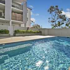 Rental info for MODERN APARTMENT WITH RESORT STYLE LIVING in the Brisbane area