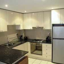 Rental info for MODERN, FULLY FURNISHED, ONE BEDROOM APARTMENT WITH HARBOUR VIEWS in the Sydney area