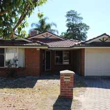Rental info for LOW MAINTENANCE PROPERTY - WALK TO BULLCREEK TRAIN STATION and MT PLEASANT SHOPS