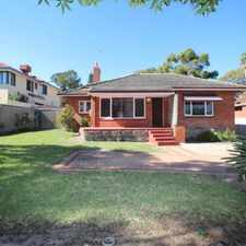 Rental info for ALMOST NEW AGAIN - NEW PAINT, CARPETS, BLINDS and KITCHEN in the Lathlain area