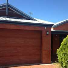 Rental info for EXECUTIVE STYLE HOME IN CENTRAL LOCATION in the South Bunbury area
