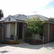 Rental info for Privacy and Location in the Box Hill South area