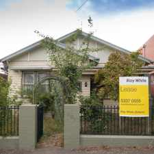 Rental info for Charming Family Home Close to CBD in the Golden Point area