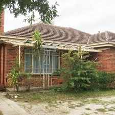 Rental info for EXTRA SPACIOUS HOME LOCATED CLOSE TO SHOPS, SCHOOLS AND TRANSPORT in the Bentleigh area
