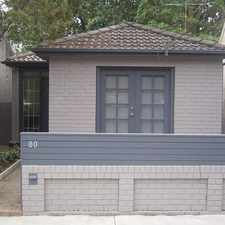 Rental info for Charming 3 bedroom home in the Leichhardt area