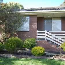 Rental info for Unit in Northern Location in the Ballarat North area
