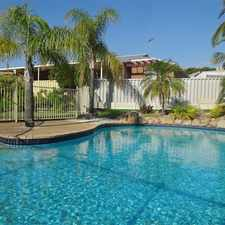 Rental info for Comfortable Family Home With Amenities Around You in the Jandakot area